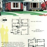 Original vintage exteriors and floor plans for American houses built in 1958 - at Click Americana (32)