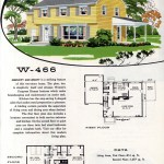 Original vintage exteriors and floor plans for American houses built in 1958 - at Click Americana (43)