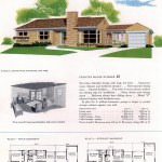 Original vintage house plans for American suburban homes built in 1953 - at Click Americana (1)