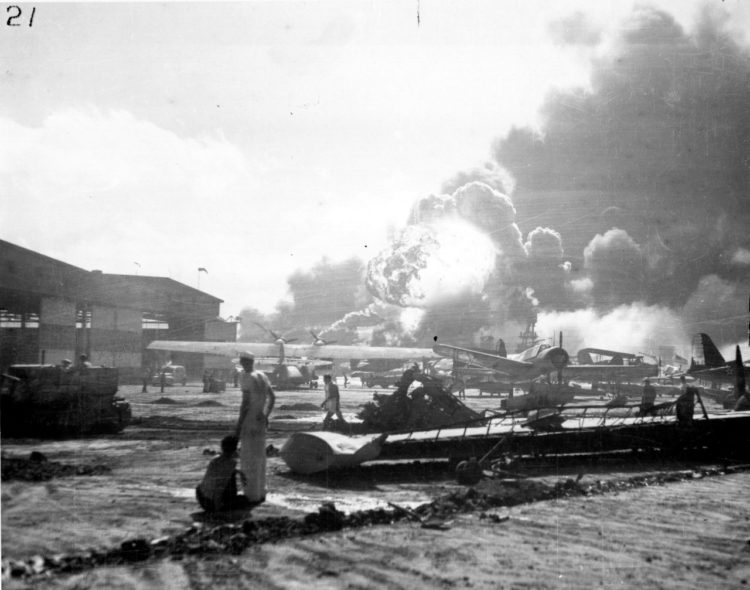 Pearl Harbor Attack, 7 December 1941 from Naval History and Heritage Command