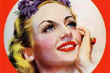 Pretty woman smiling c1939