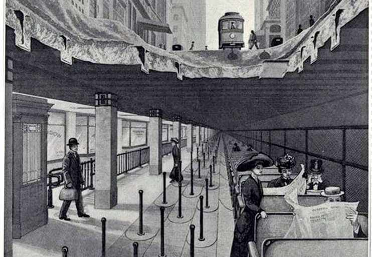 Rapid transit by belt conveyor