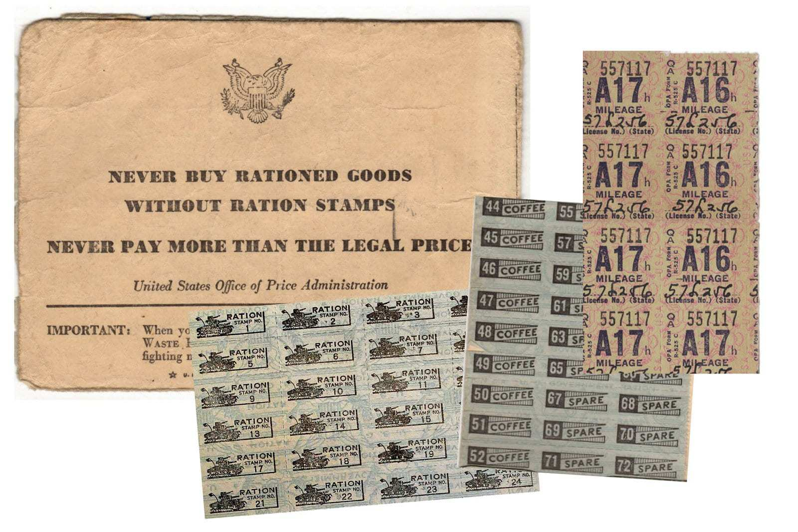 Rationing During Ww2 See War Ration Books Ration Stamps