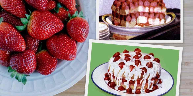 Real classic strawberry shortcake recipes