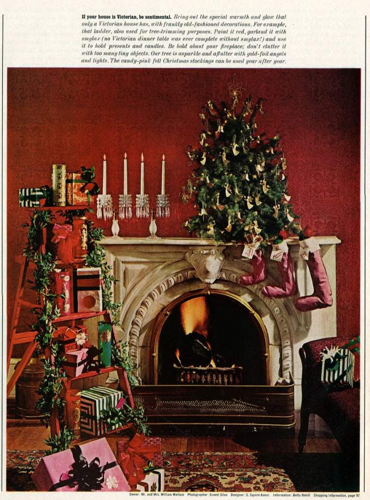 Deck The Halls With Lots Of Homemade 60s Style Christmas