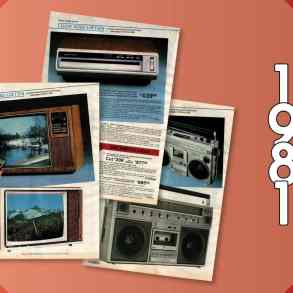 Retro tech - home electronics - 1981 Sears catalog