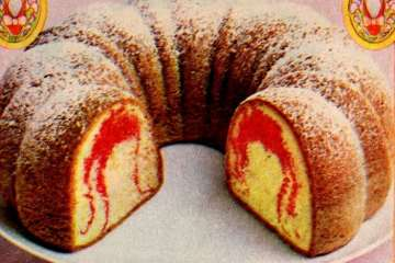 Ruby Slipper Bundt cake recipe (1978)