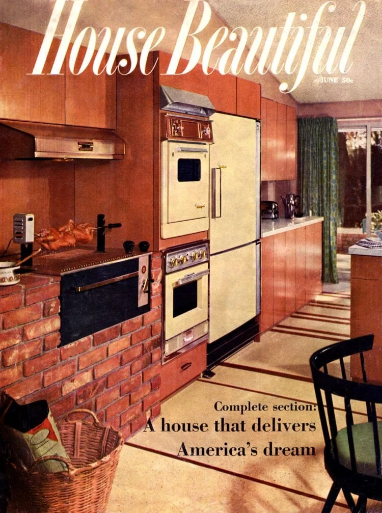 Scholz Homes - Mark 58 on House Beautiful cover