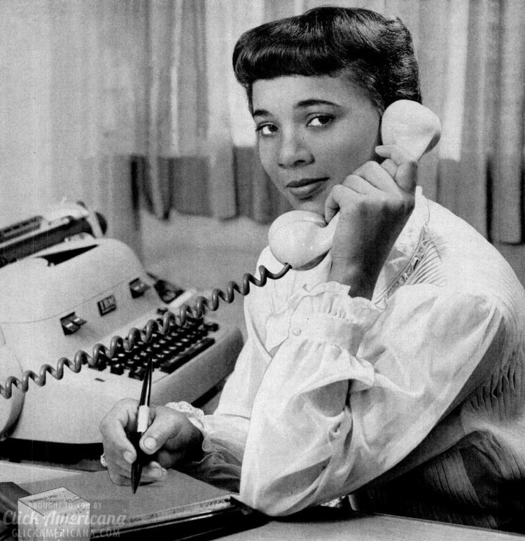 Secretary office phone 1960 - How to find a husband