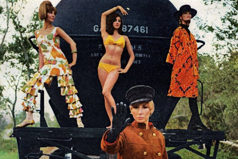 See styles from the soaring '60s fashion scene