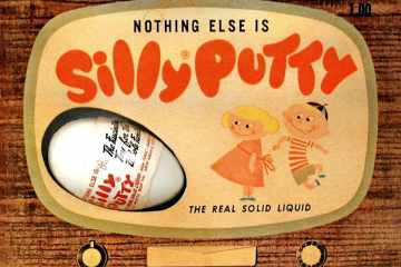 Silly Putty Wonder toy of the 20th century (1951)