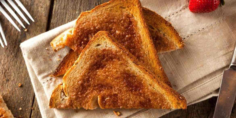 Homemade Sugar and Cinnamon Toast