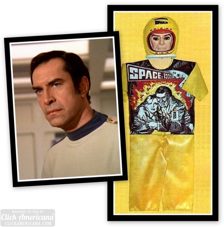 Terrible Vintage 70s Halloween costumes and masks - Space 1999