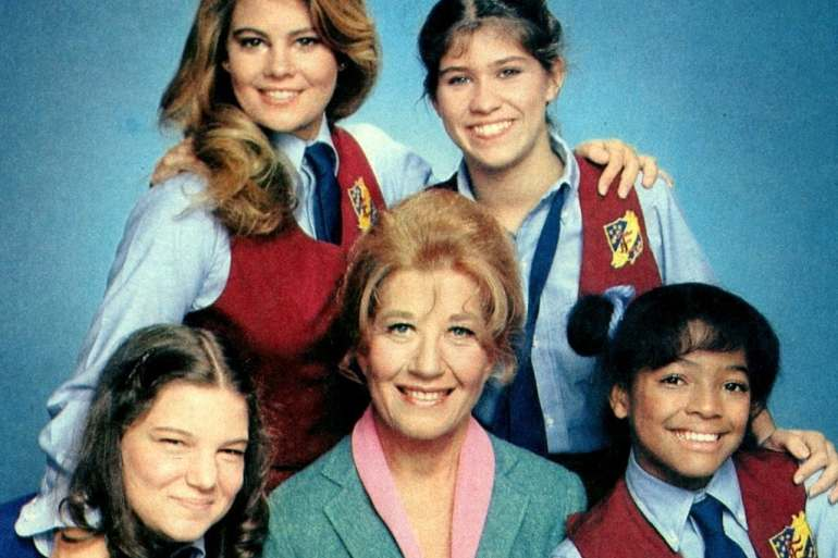 The Facts of Life Jo, Blair, Tootie & Natalie (1981)