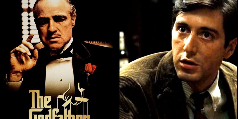 The Godfather movie - Brando and Pacino 1972
