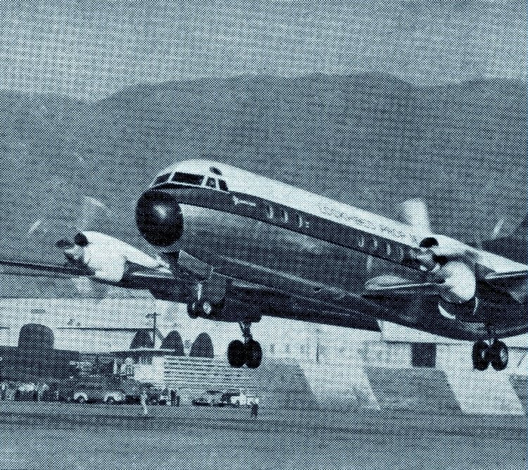 The Lockheed Electra makes her debut (1958)