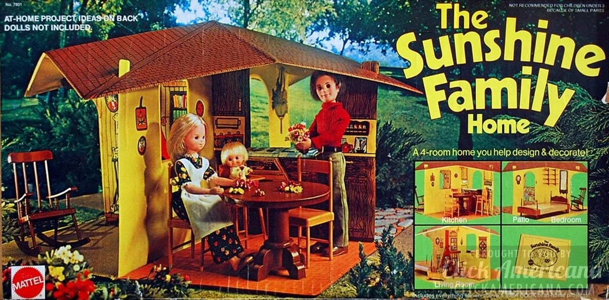 The Sunshine Family Dolls Vintage Playsets 1974 1978 Click