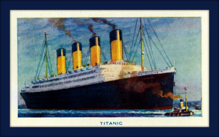 The Titanic - before the ship sank in 1912 - is the ship Titanic still floating?