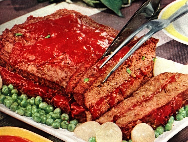 The classic 15-minute meatloaf recipe (1955)