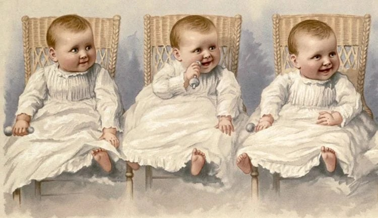 The trouble with triplets How to tell them apart (1892)