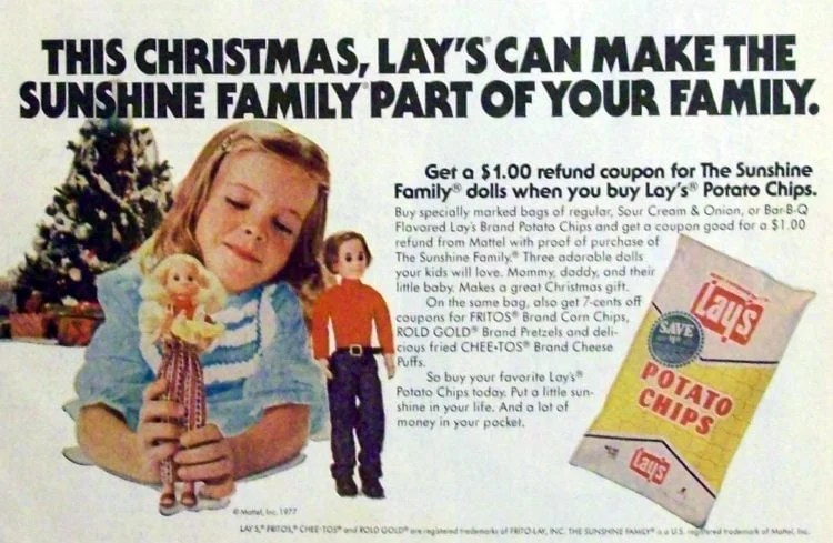 This Christmas, Lay's can make The Sunshine Family part of your Family
