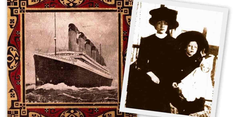 Follow-up Titanic survivor Charlotte Collyer (1912)