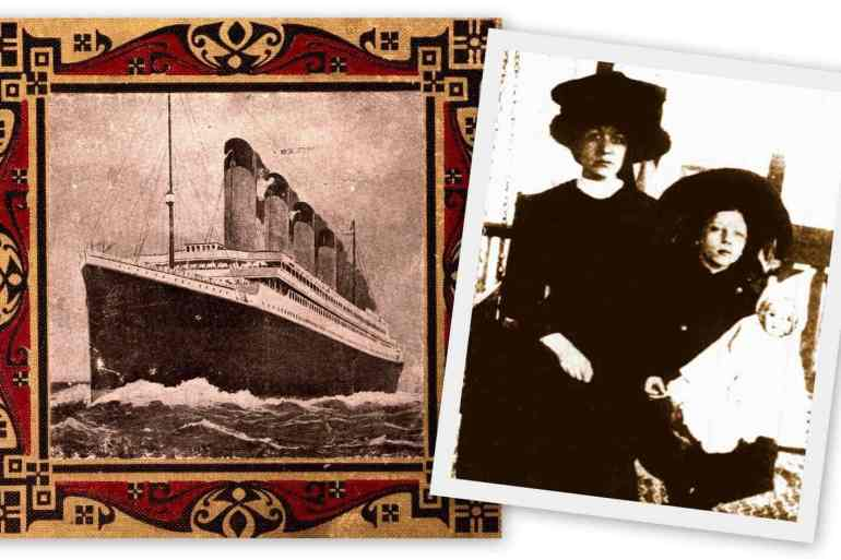 Follow-up Titanic survivor Charlotte Collyer (1912)
