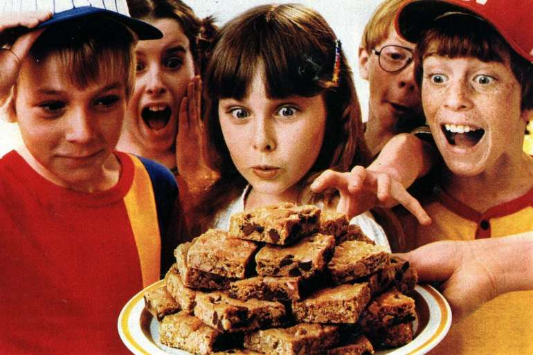 Toll House pan cookies & Oatmeal Scotchie bar cookies (1982)