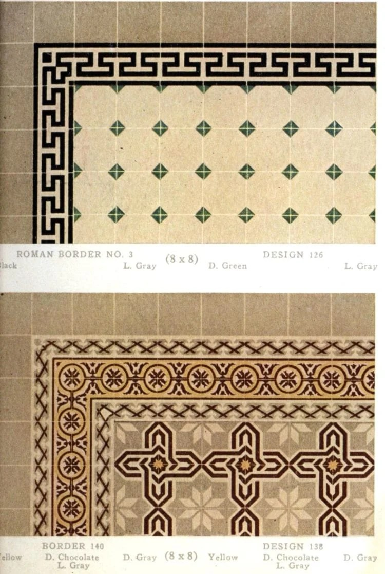see 60 authentic tile patterns from the