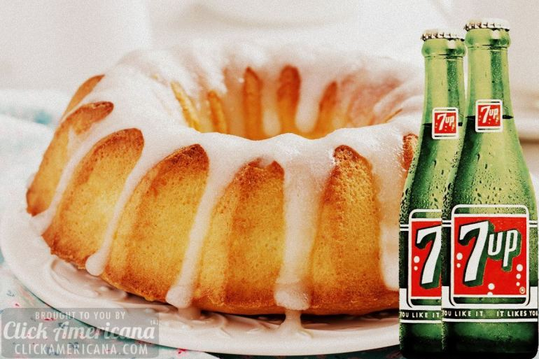 Vintage 7-Up cake recipes
