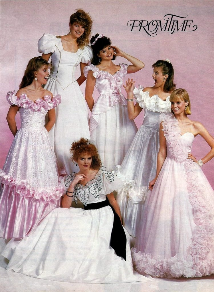 80s Prom Hairstyles : hairstyles, Vintage, Dresses:, Hottest, Retro, Styles, Girls, Click, Americana