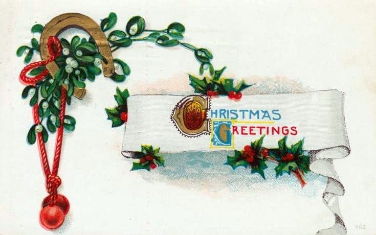 Vintage Christmas postcards (2)