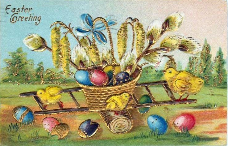 24 Adorable Vintage Easter Cards From The First Decades Of The 1900s Click Americana