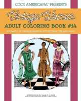 Vintage Fashion from the Mid-1920s: Vintage Women Adult Coloring Book #14
