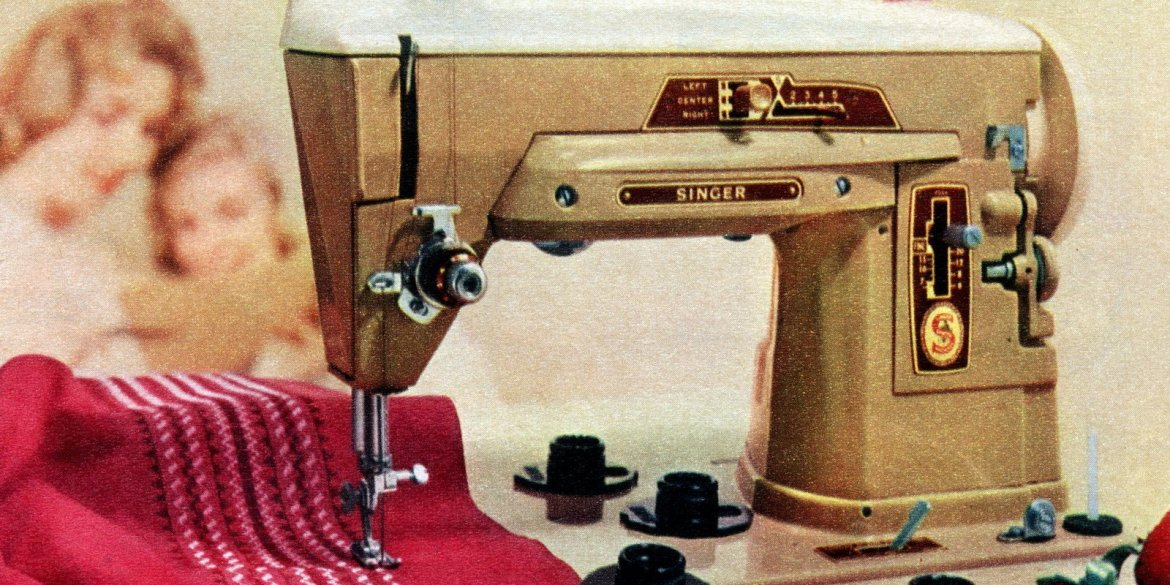 Vintage Singer Sewing Machines From The '40s They're Sew Classic Delectable 1958 Singer Sewing Machine Value