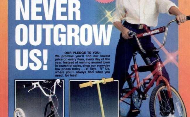 Toys R Us Catalog You Ll Never Outgrow Us 1987