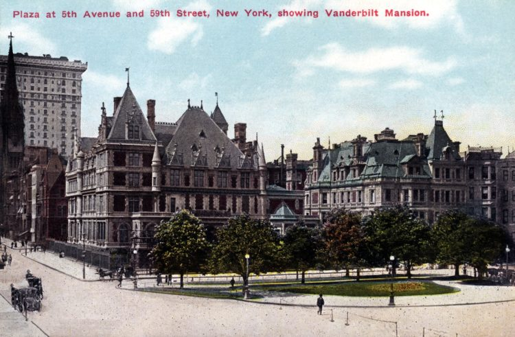 Vintage Vanderbilt Mansion in NYC