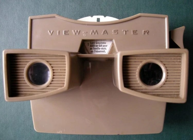 Vintage Viewmaster viewer from the 1970s