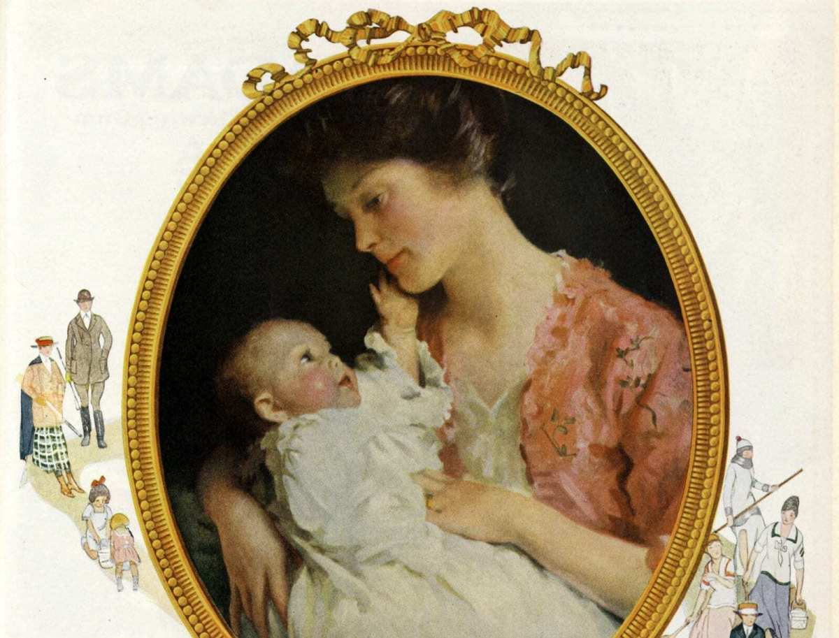Benefits of breastfeeding your baby (1922)
