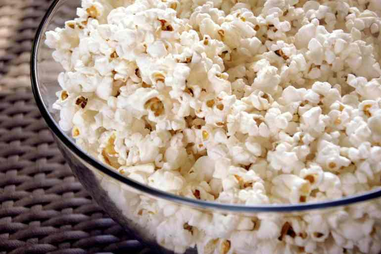 Vintage popcorn recipes