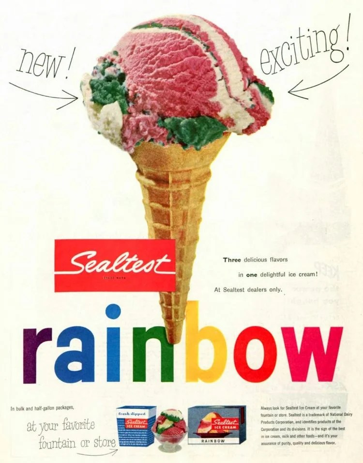 25 vintage ice cream flavors from the '50s - Click Americana
