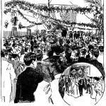 Wedding bells at San Francisco's Presidio (1896)