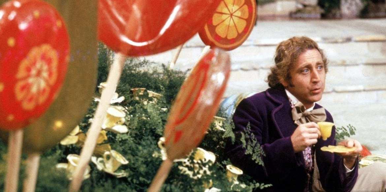 Willy Wonka Gene Wilder - Candy room
