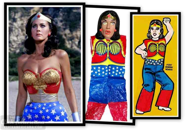 Wonder Woman Halloween costumes from 1979