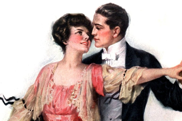 XOXO Should newlyweds show affection in public (1919)