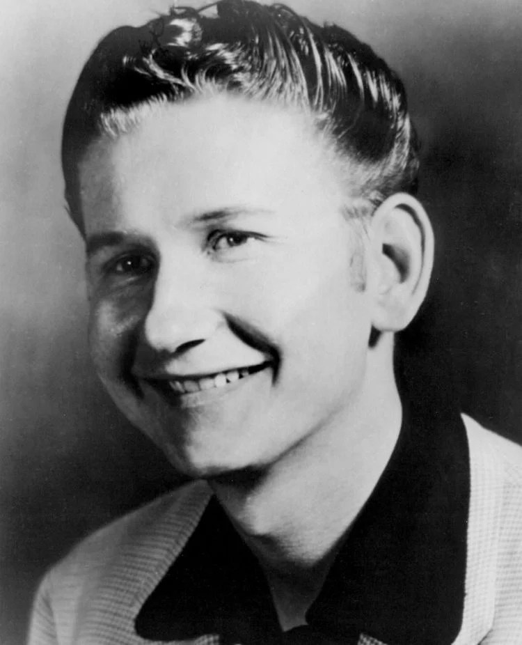 Young Roy Orbison without sunglasses