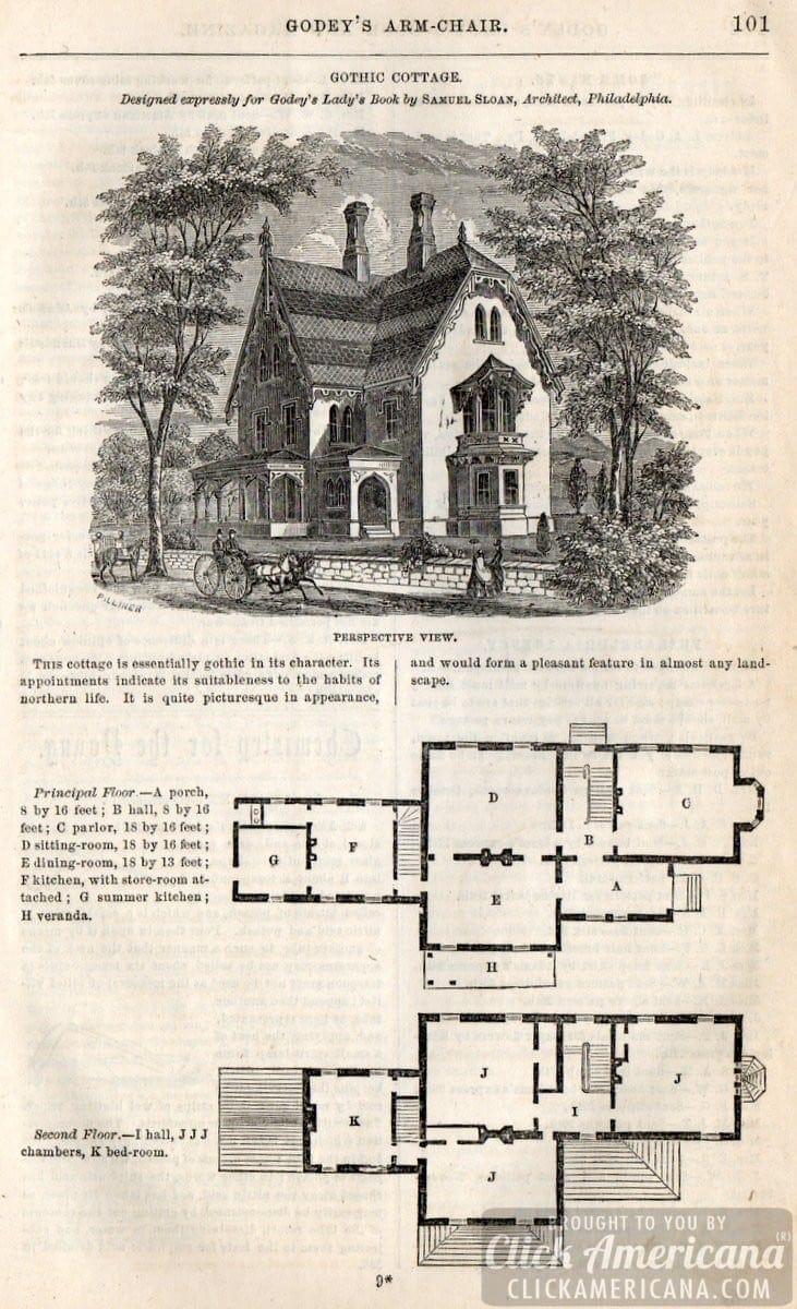 Medieval Cottage Floor Plan