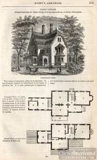 Medieval Cottage Floor Plan