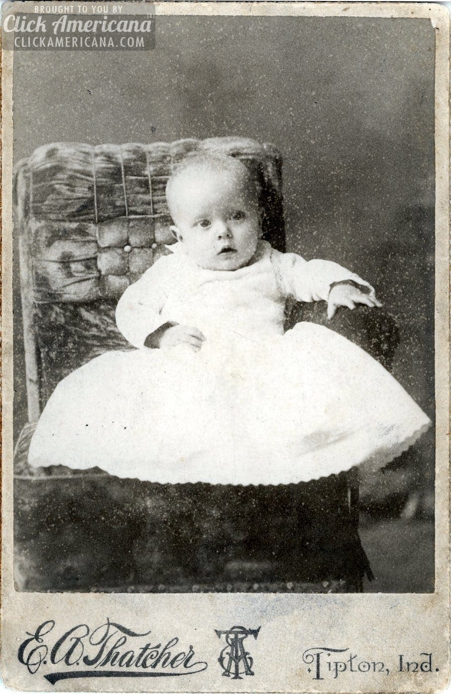 Antique babies Cabinet card portraits of baby boys