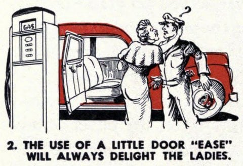 gas station delight the ladies 1944